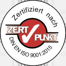 verikom | Logo ISO 9001:2008